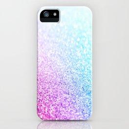 Uniorn Sparkle Pink Lavender Blue Seafoam iPhone Case