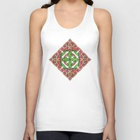 diamond Tank Tops featuring Diamond by Lyle Hatch