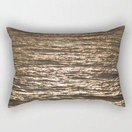 Sun ray on the sea Rectangular Pillow