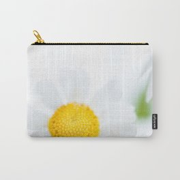 Dreamy white and yellow flowers Carry-All Pouch