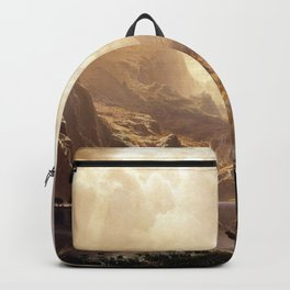 Albert Bierstadt - Among the Sierra Nevada, California Backpack
