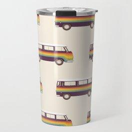 Van - Rainbow Travel Mug