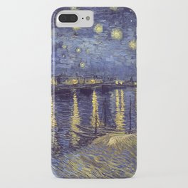 Vincent Van Gogh Starry Night Over The Rhone iPhone Case