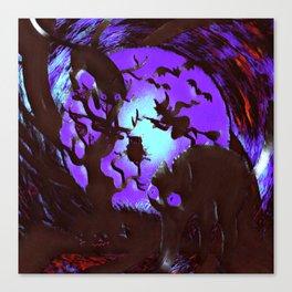 Spooktober Night Canvas Print