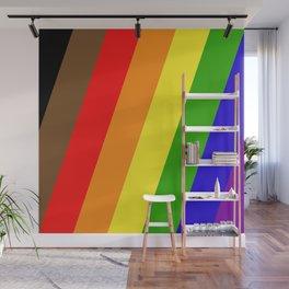 Pride Stripes Wall Mural