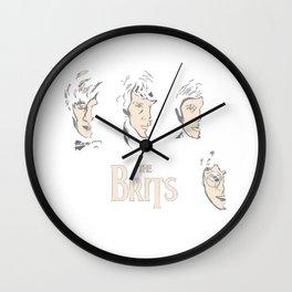 HarryPotterTheBeatles Logo Wall Clock