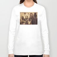 victorian Long Sleeve T-shirts featuring Victorian Wars (A2 format)  by Terry Fan