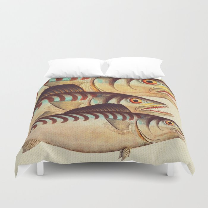 Fish Classic Designs 8 Duvet Cover