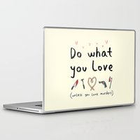 motivational Laptop & iPad Skins featuring Motivational Poster by Sophie Corrigan