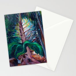 Emily Carr - Old Timer - Canada, Canadian Oil Painting - Group of Seven Stationery Cards
