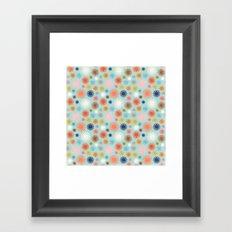 Flashbulbs Framed Art Print