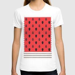 N100 - Traditional Anthropologie Oriental Atlas Moroccan Khamsa Style. T-shirt