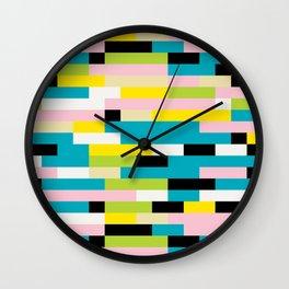 Block It Wall Clock