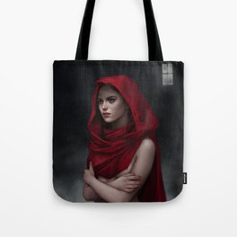 Doves and ravens Tote Bag