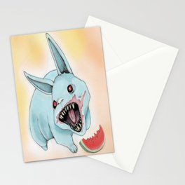 Zombie Bunny Stationery Cards