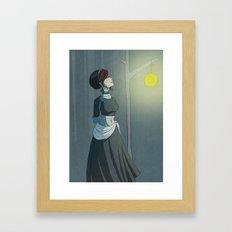 A Calm Night Framed Art Print