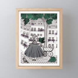 Hadessah's Leaf Framed Mini Art Print