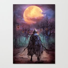 Eileen the Crow Canvas Print