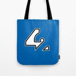 42 - Blue Tote Bag
