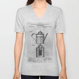 Coffee percolator Unisex V-Neck