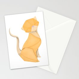 An Origami Kitten Stationery Cards