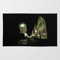 street night. Rug