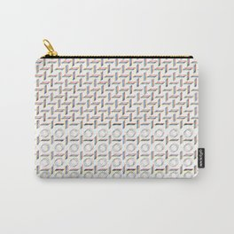 RGB graphic handdrawn pattern Carry-All Pouch