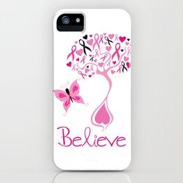 Breast Cancer Survivor iPhone Case