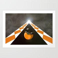 Clockwork_Orng Art Print