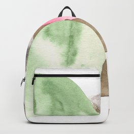 180515 Fitting In 5  | Abstract Watercolors Backpack