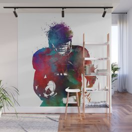 American football player #football #sport Wall Mural