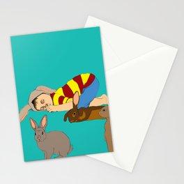Bunny Boy Stationery Cards