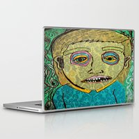 cigarettes Laptop & iPad Skins featuring cigarettes and food  by Samantha Sager