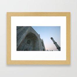 Taj Mahal at Sunset #1 Framed Art Print