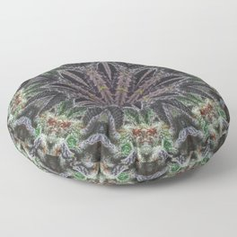 Med Wheel 1 Floor Pillow