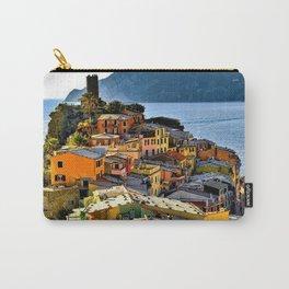 Cinque Terre Vernazza Village Mediterranean Coast, Italy 2 Carry-All Pouch
