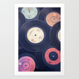 Sounds of the 70s Art Print