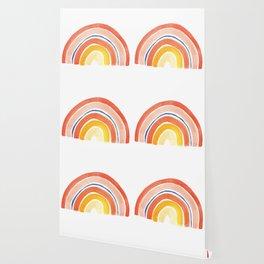 Desert Rainbow Wallpaper