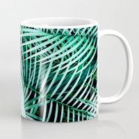 palms Mugs featuring Palms by Karen Hofstetter