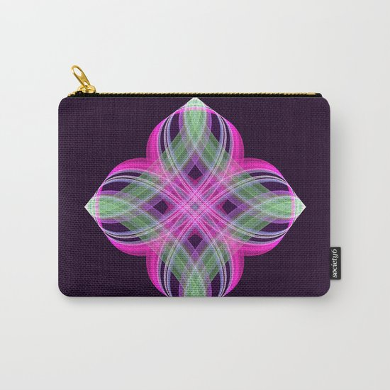 Four points decorative abstract design Carry-All Pouch