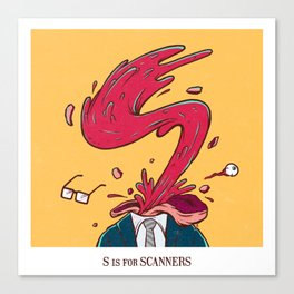 S is for Scanners Canvas Print