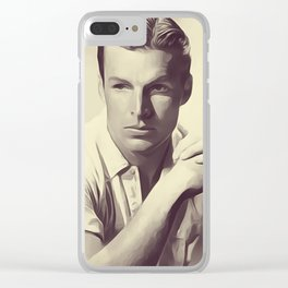 Buster Crabbe Clear iPhone Case