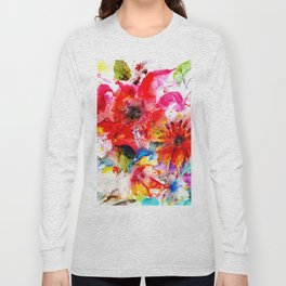 Watercolor garden II Long Sleeve T-shirt