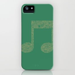 Techno Music iPhone Case