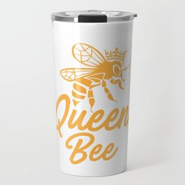 Queen bee, God Save The Queen, Bee Lover Gift, Beekeeper Gift Travel Mug