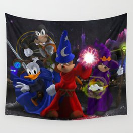 Heroes of the Realm Wall Tapestry