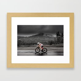 Amber Ferreira, 2014 Ironman 70.3 World Championships Framed Art Print