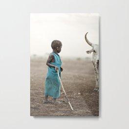 Tanzanian Herder Metal Print