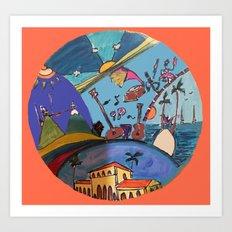 Canica 8 Art Print
