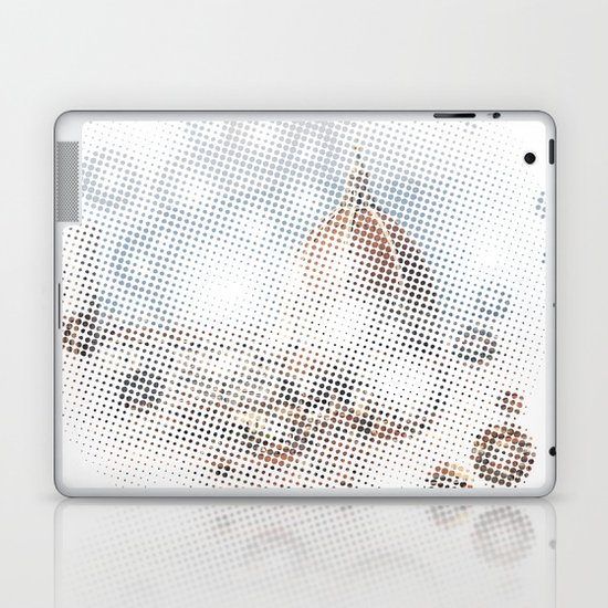 rain drops on Florence Laptop & iPad Skin